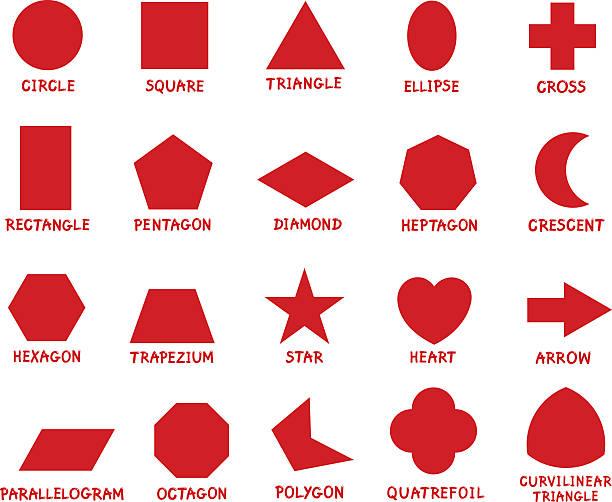 illustrations, cliparts, dessins animés et icônes de éducation des formes géométriques de base - niveau primaire