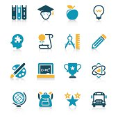 Education Icon Set | Vivid Series