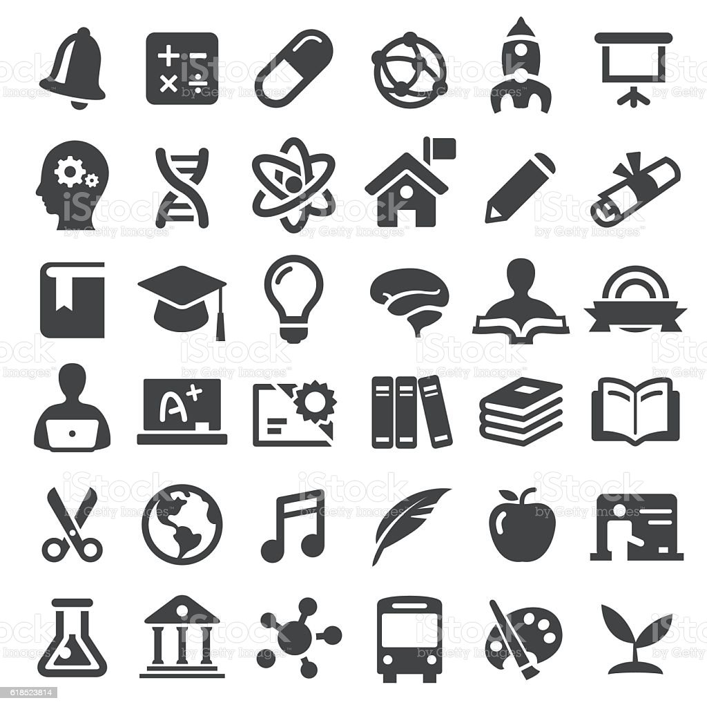 Education Icons - Big Series