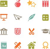 Education Icons | Flat Series
