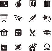 Education  Icons | Mono Series