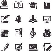 Education Icons Set - Acme Series