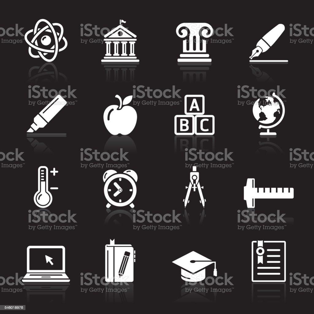 Education Icons set. – Vektorgrafik