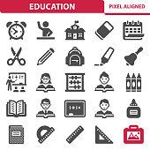 istock Education Icons 1036071390