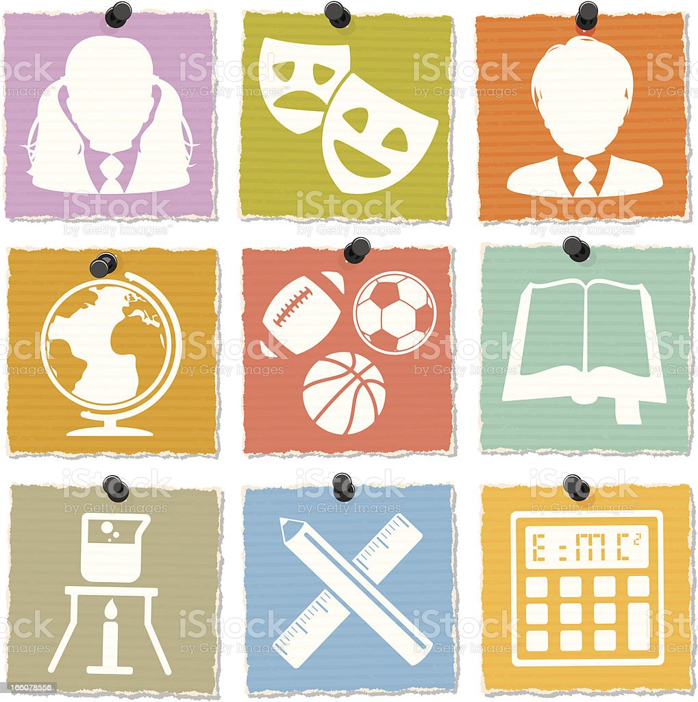 Education Icons royalty-free education icons stock vector art & more images of back to school