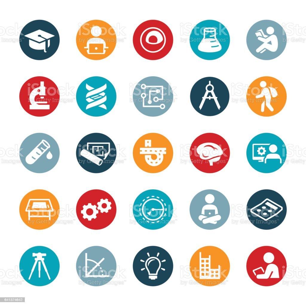 STEM Education Icons