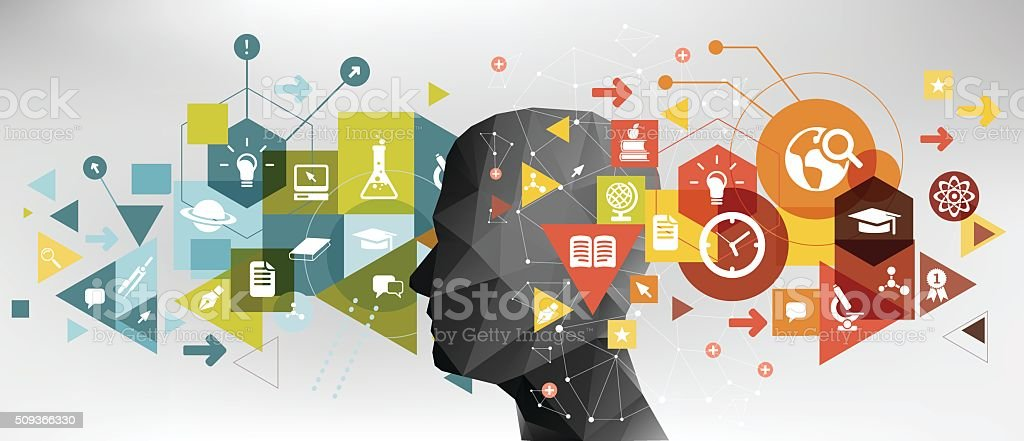 Education idea vector art illustration