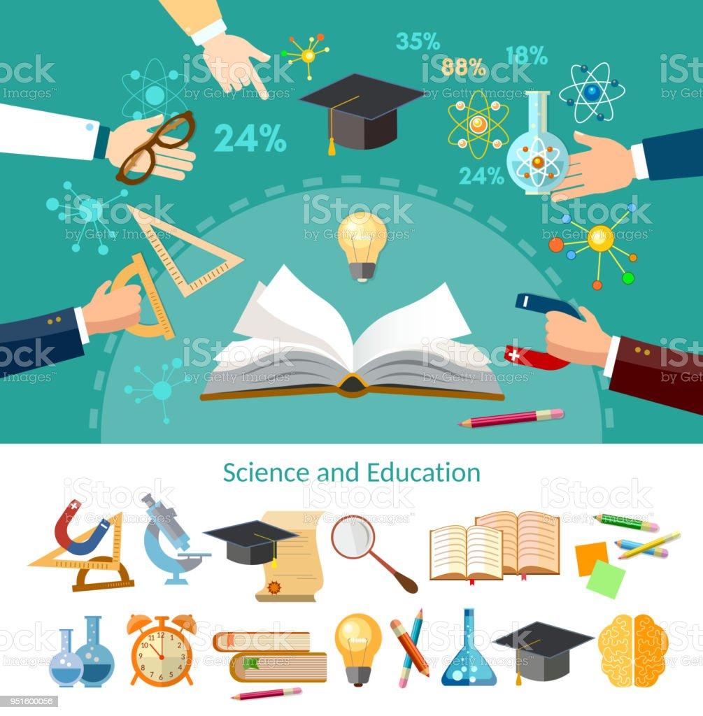 Ilustración de Educación Relacional Libro Abierto De Conocimientos ...