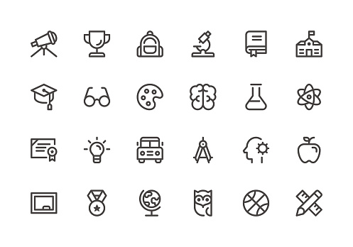Education - Line Icons