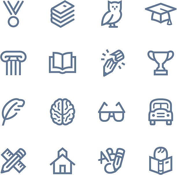 bildung-symbole - buchstabenschreibweise stock-grafiken, -clipart, -cartoons und -symbole