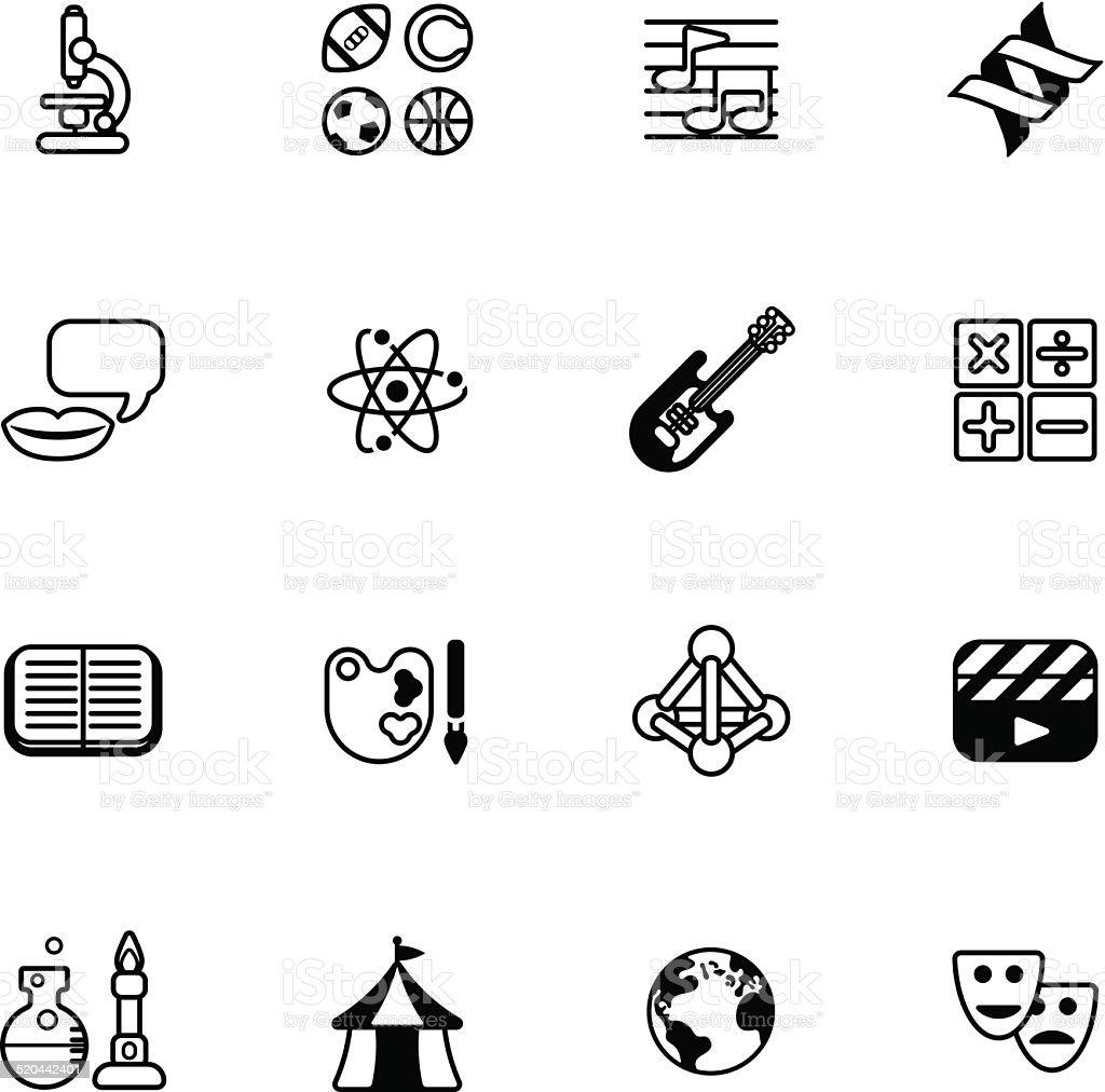 Quiz Thema Bildung Und Symbole Stock Vektor Art und mehr Bilder von ...