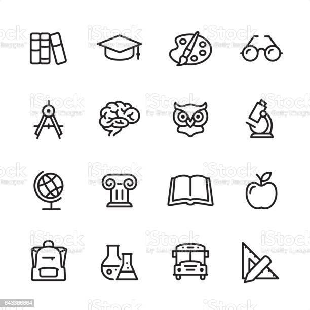 Education outline icon set vector id643386664?b=1&k=6&m=643386664&s=612x612&h=i5bswmc9qbkiyik6f2tw5ouml2fsxyblckyjsax7g44=