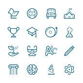 Education Set | Line Icon Series