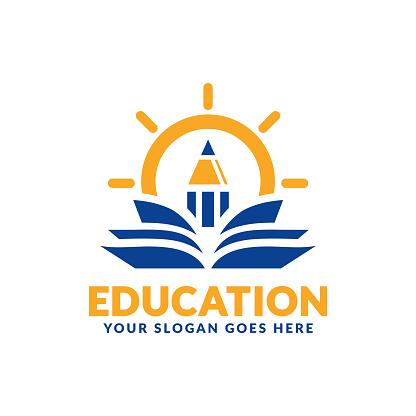 education logo stock illustrations