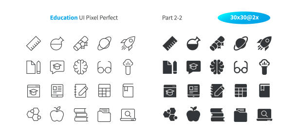 Education UI Pixel Perfect Well-crafted Vector Thin Line And Solid Icons 30 2x Grid for Web Graphics and Apps. Simple Minimal Pictogram Part 2-2 Education UI Pixel Perfect Well-crafted Vector Thin Line And Solid Icons 30 2x Grid for Web Graphics and Apps. Simple Minimal Pictogram Part 2-2 amino acid stock illustrations