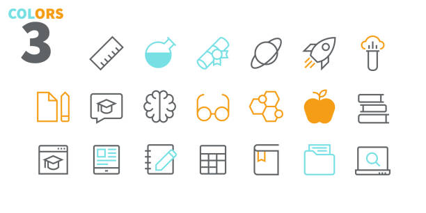 Education UI Pixel Perfect Well-crafted Vector Thin Line Icons 48x48 Ready for 24x24 Grid for Web Graphics and Apps with Editable Stroke. Simple Minimal Pictogram Part 2-2 Education UI Pixel Perfect Well-crafted Vector Thin Line Icons 48x48 Ready for 24x24 Grid for Web Graphics and Apps with Editable Stroke. Simple Minimal Pictogram Part 2-2 amino acid stock illustrations