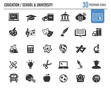 Education Vector Icons // Premium Series