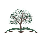book and tree