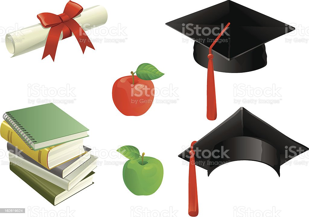Education royalty-free stock vector art