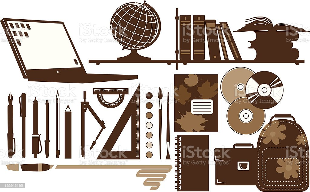 Educational Accessories royalty-free educational accessories stock vector art & more images of back to school