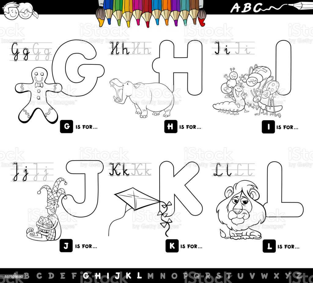 Application Coloriage Dessin Anime.Alphabet Du Dessin Anime Educatif Pour Enfants Coloriage