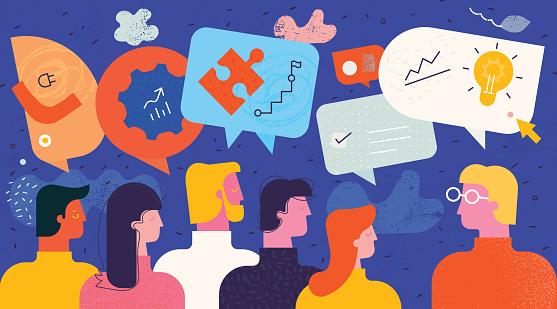 Educational Communication Concept
