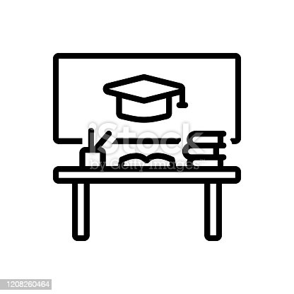 Icon for educational, desk, book, academic, scholastic, scriptural, pedagogical, bookish, savant, studious