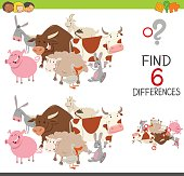 educational finding differences game