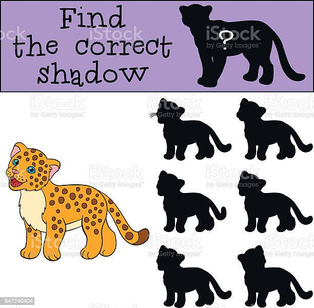 Educational game find the correct shadow little cute baby jagu vector id547240404?b=1&k=6&m=547240404&s=612x612&h=8bu7xvjvcpjzxinjec3bevo0zrskc9e0gpsgri1ftpu=