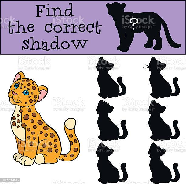 Educational game find the correct shadow little cute baby jagu vector id547240870?b=1&k=6&m=547240870&s=612x612&h=no1qkwx342fz9a8saat7u45pjxmeaeajlo2vsj0jfqq=