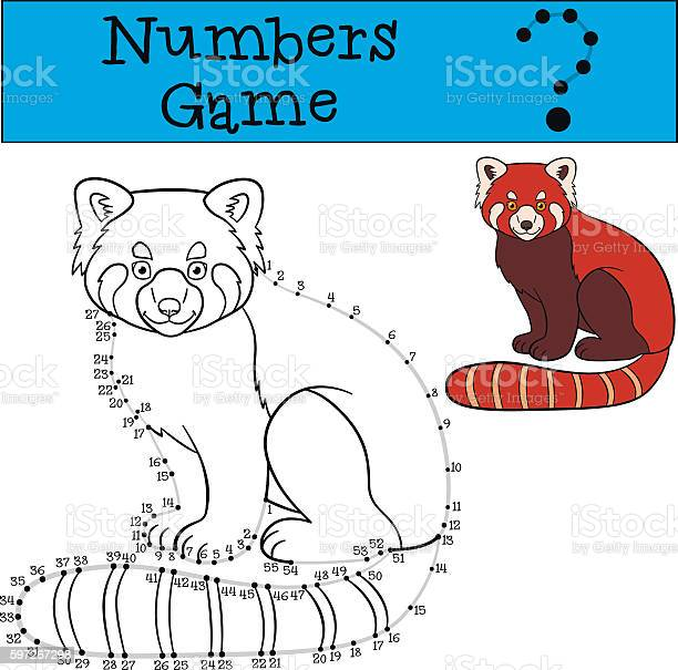 Educational game numbers game with contour little cute red pan vector id597267298?b=1&k=6&m=597267298&s=612x612&h=l8fuiq6uyfnmszysxuamrpls6ao6t9bijw9s10khye4=