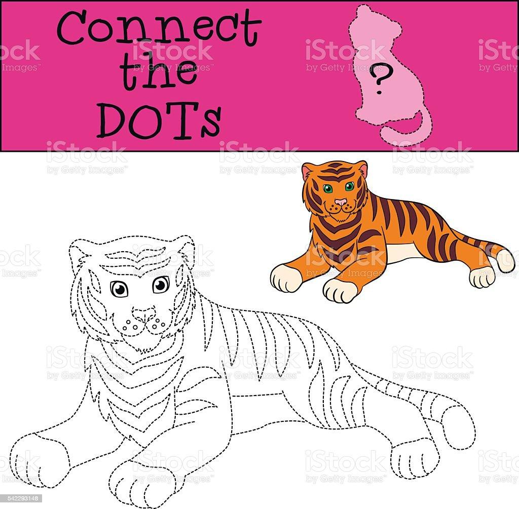 Ilustracion De Educativos Juegos Para Ninos Juntar Los Puntos Lindo