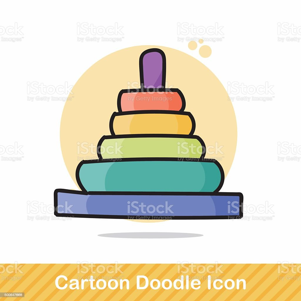 Educational Toys Doodle Stock Vector Art & More Images of ...