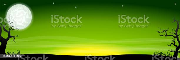 Eerie halloween night background banner with a full moon vector id1053004156?b=1&k=6&m=1053004156&s=612x612&h=suwp53sugx4uoc w37soiwoexy1jdcf5kmeju kmpxi=