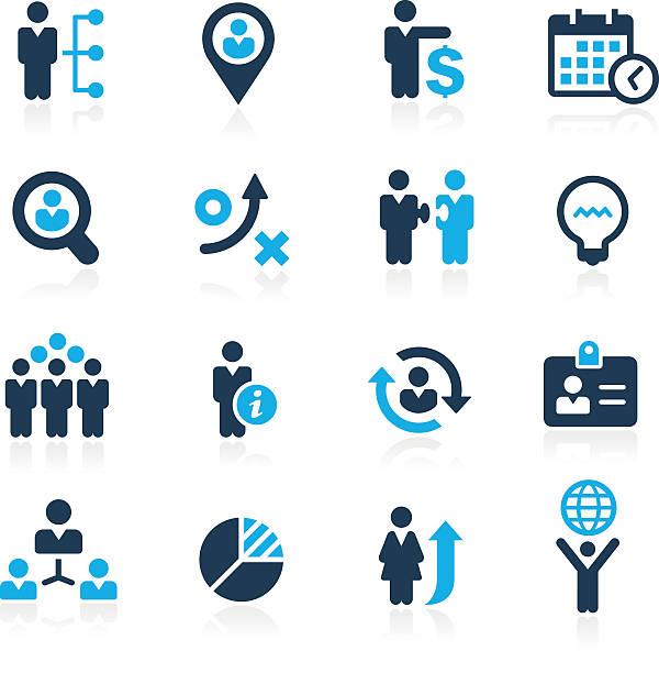 effizienz und business-strategien-azure serie - belohnungstafel stock-grafiken, -clipart, -cartoons und -symbole