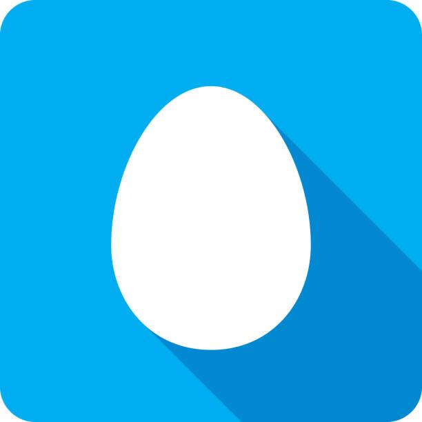 bildbanksillustrationer, clip art samt tecknat material och ikoner med ägg ikonens silhuett - ägg