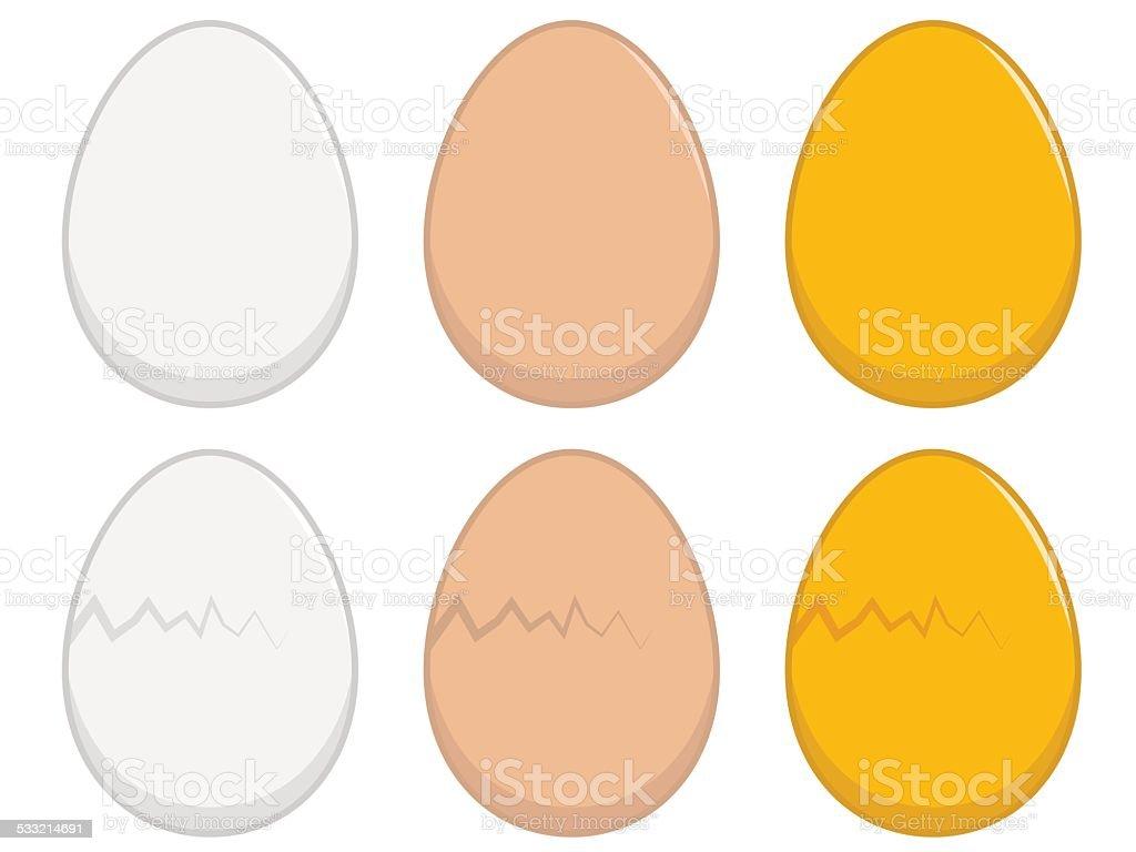 Egg Illustration vector art illustration