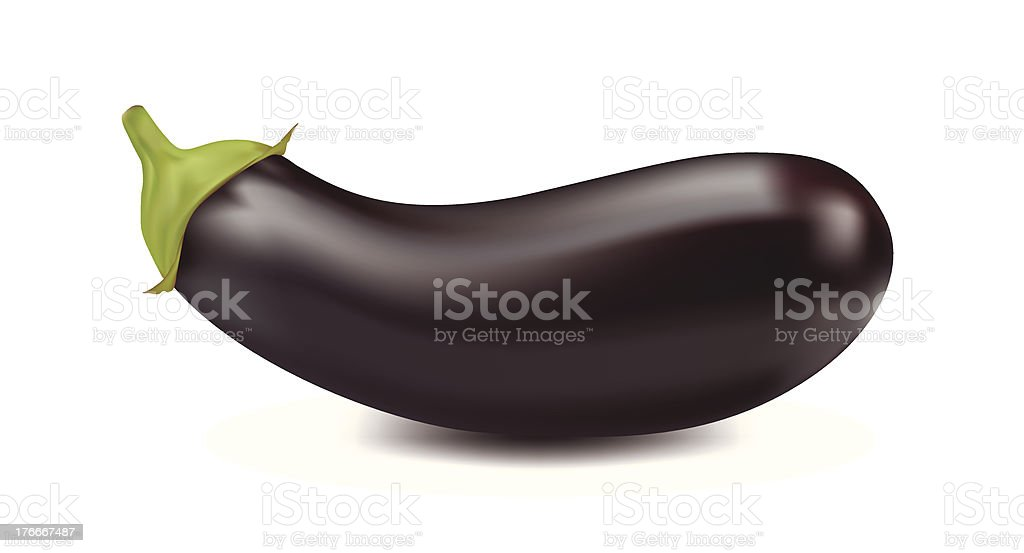 Eggplant royalty-free eggplant stock vector art & more images of black color