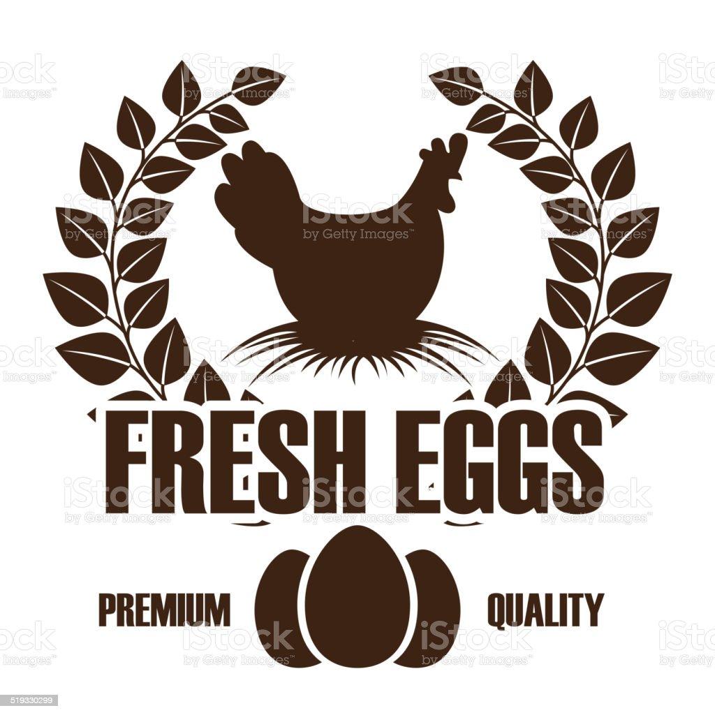 eggs design vector art illustration