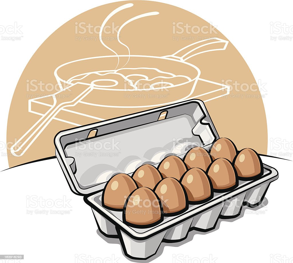 eggs in the package royalty-free eggs in the package stock vector art & more images of cardboard