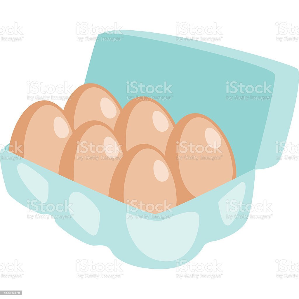 Eggs royalty-free stock vector art