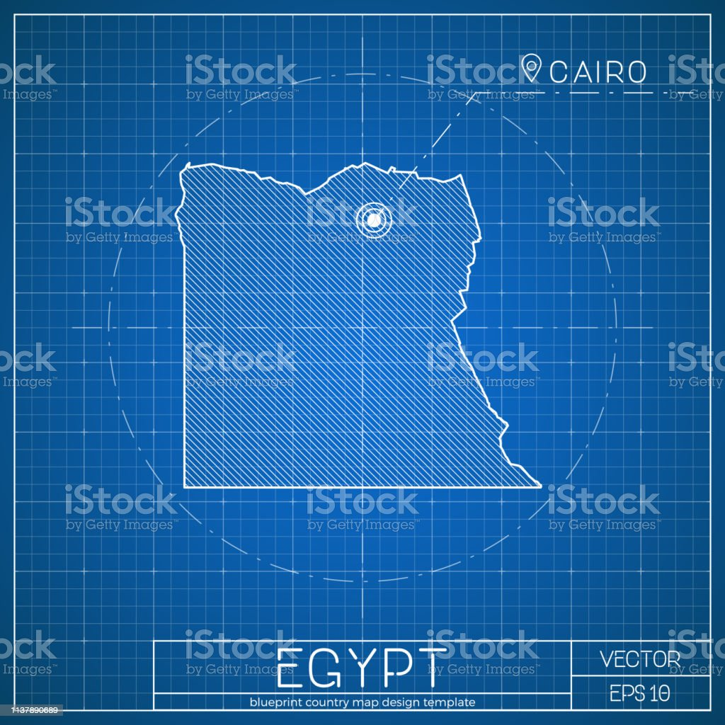 Capital City Of Egypt Map on