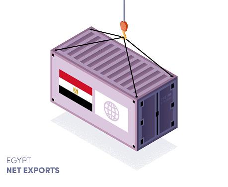 Egypt Customs Tariffs Infographic Design