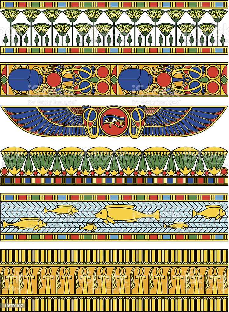 Egypt Horizontal Banners royalty-free egypt horizontal banners stock vector art & more images of africa