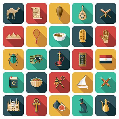 Egypt Icon Set