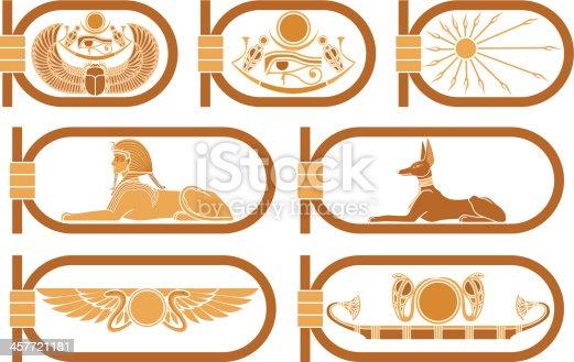 istock Egypt Icons 457721181