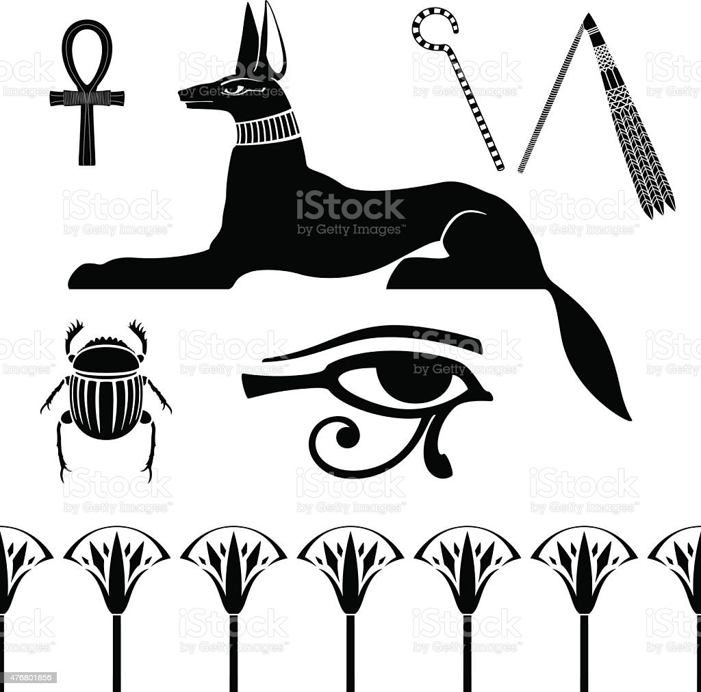 Egyptian Ancient Symbol Stock Vector Art More Images Of 2015