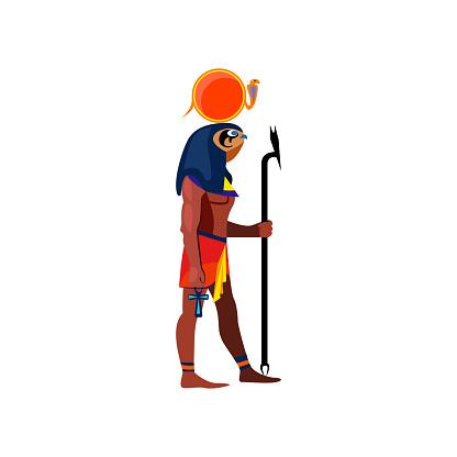 Egyptian bird person