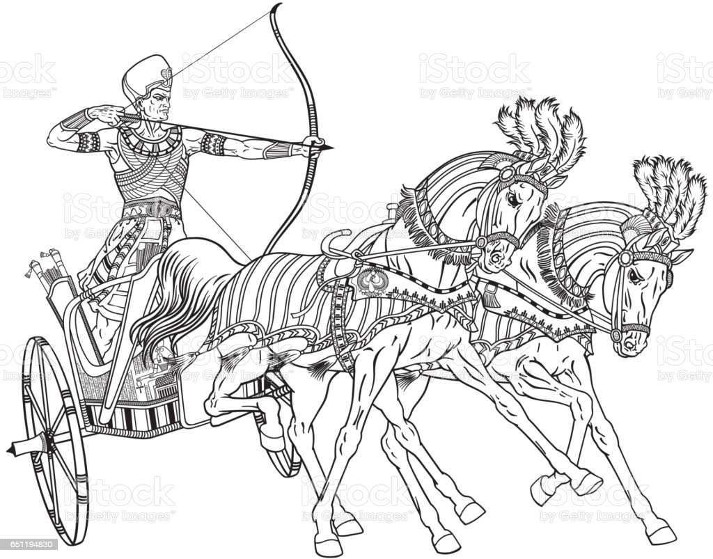 Royalty Free Chariot Clip Art Vector Images