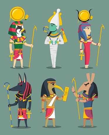 Egyptian Gods and Egypt Goddesses